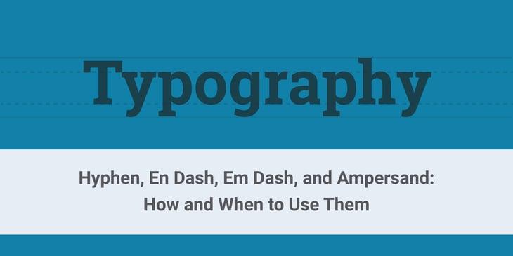hypen-en_dash-em_dash-ampersand