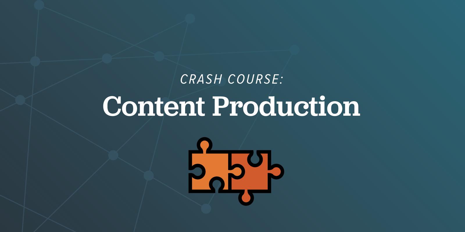 ArcStone Crash Course Content Production