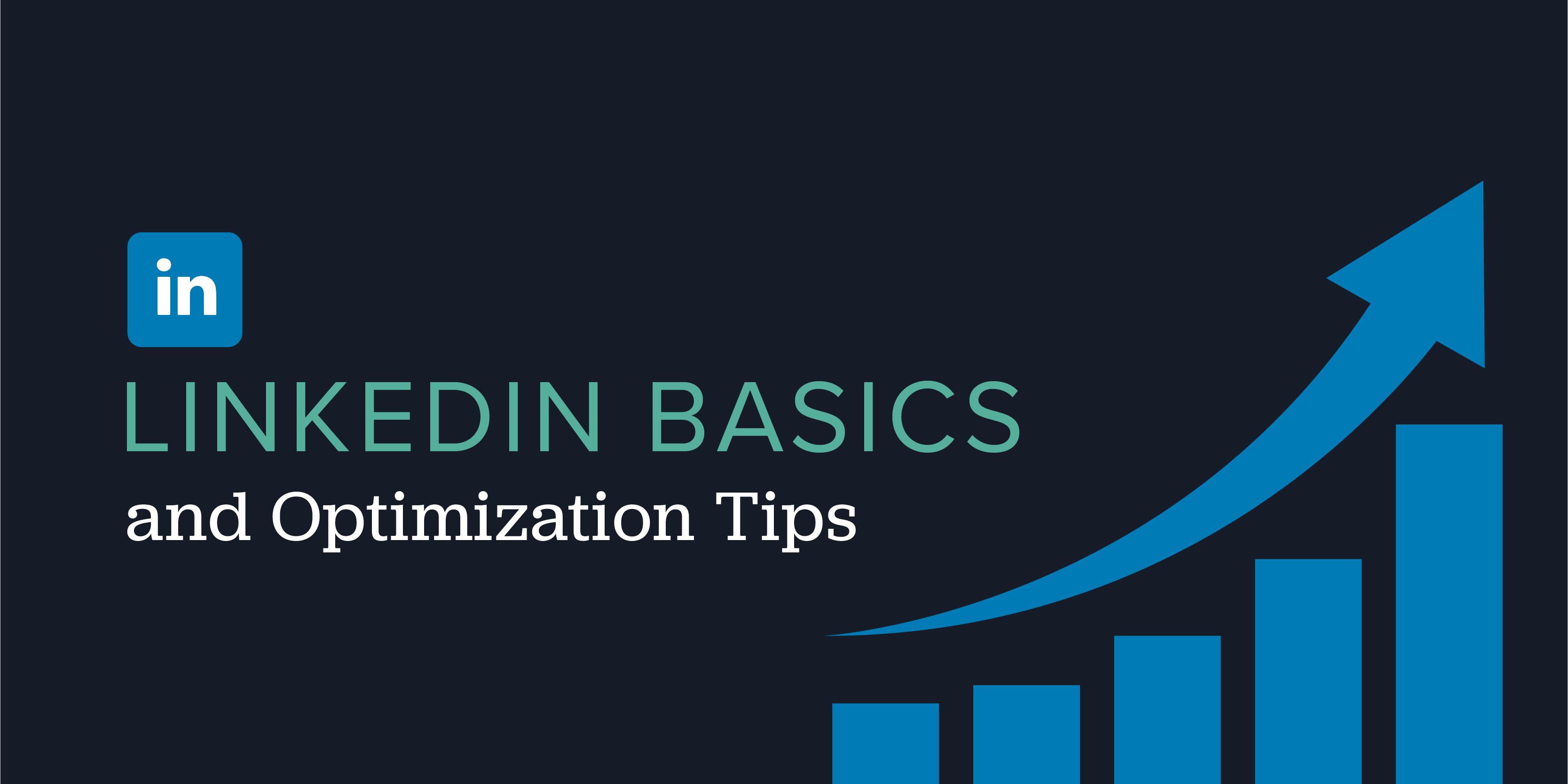 LinkedIn-Basics-Optimization-Tips