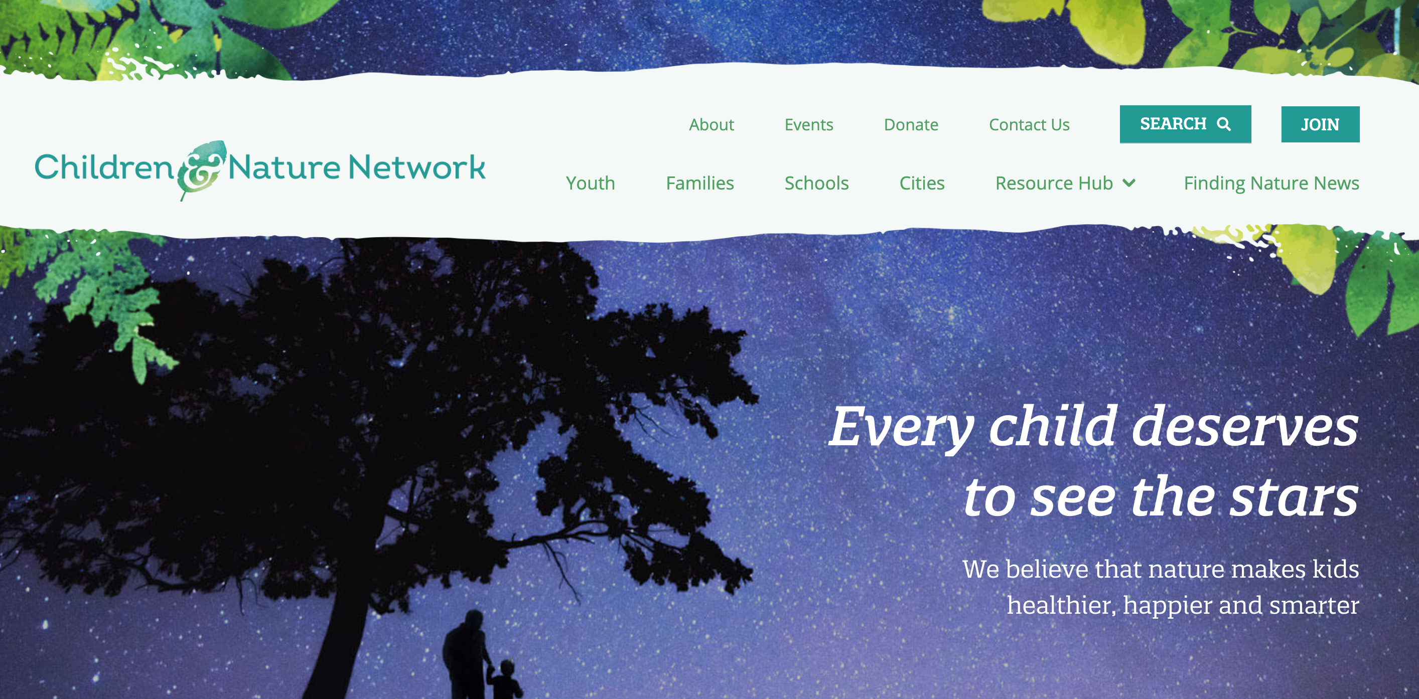 Children & Nature Network WordPress Website