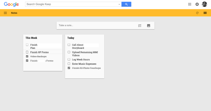 using-google-keep-for-todo-list