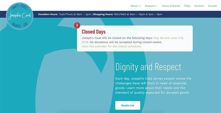 WordPress-Divi-Website-JosephsCoat