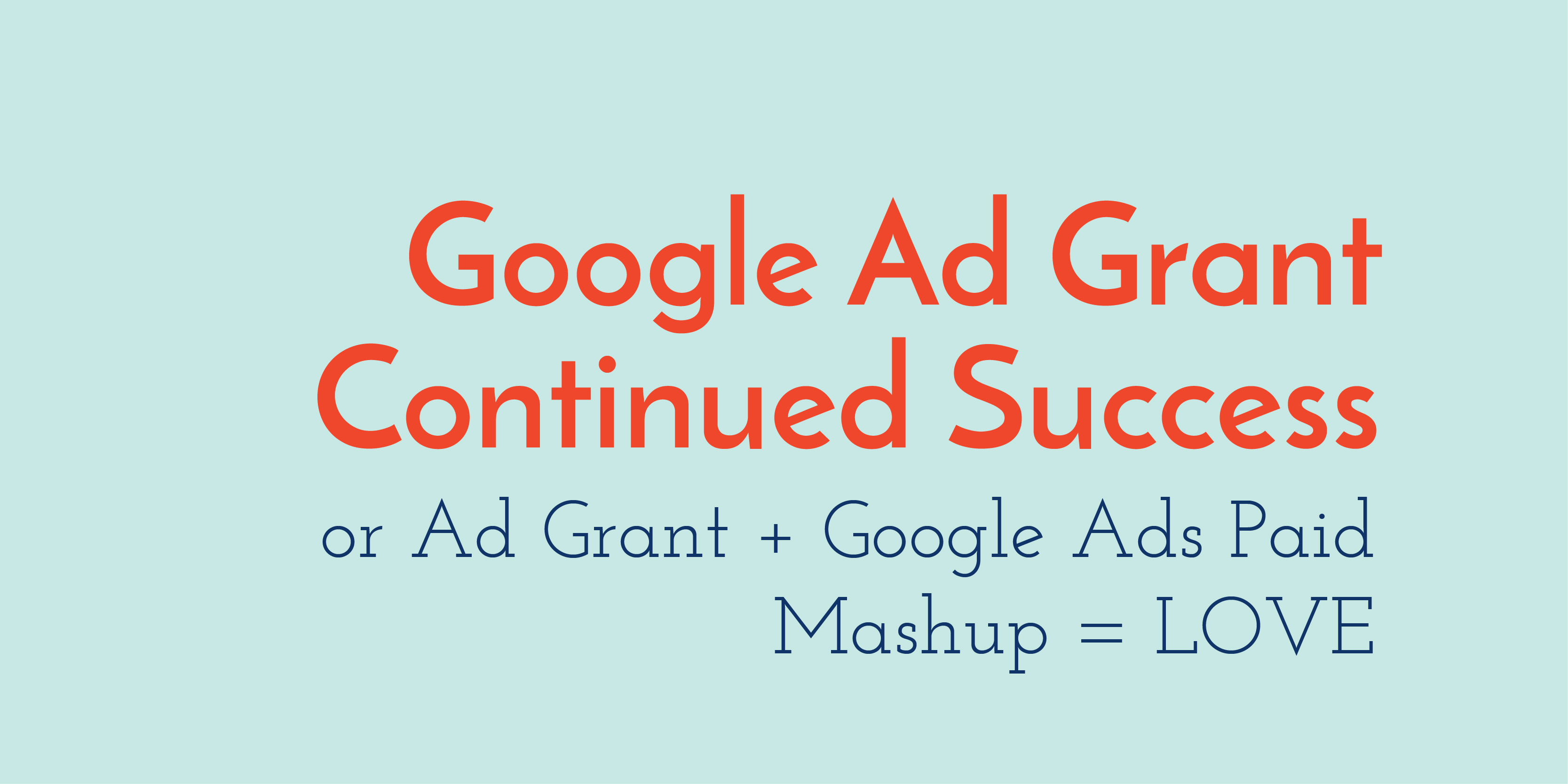 Google Ad Grant Success