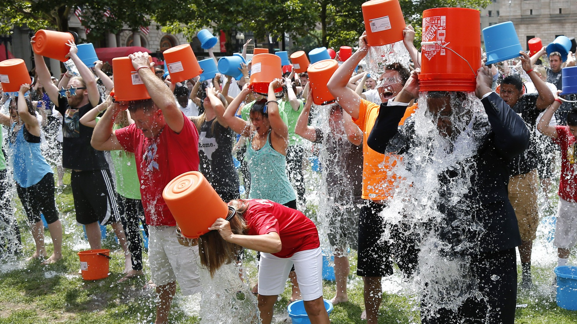 ALS Ice Bucket Challenge 2014