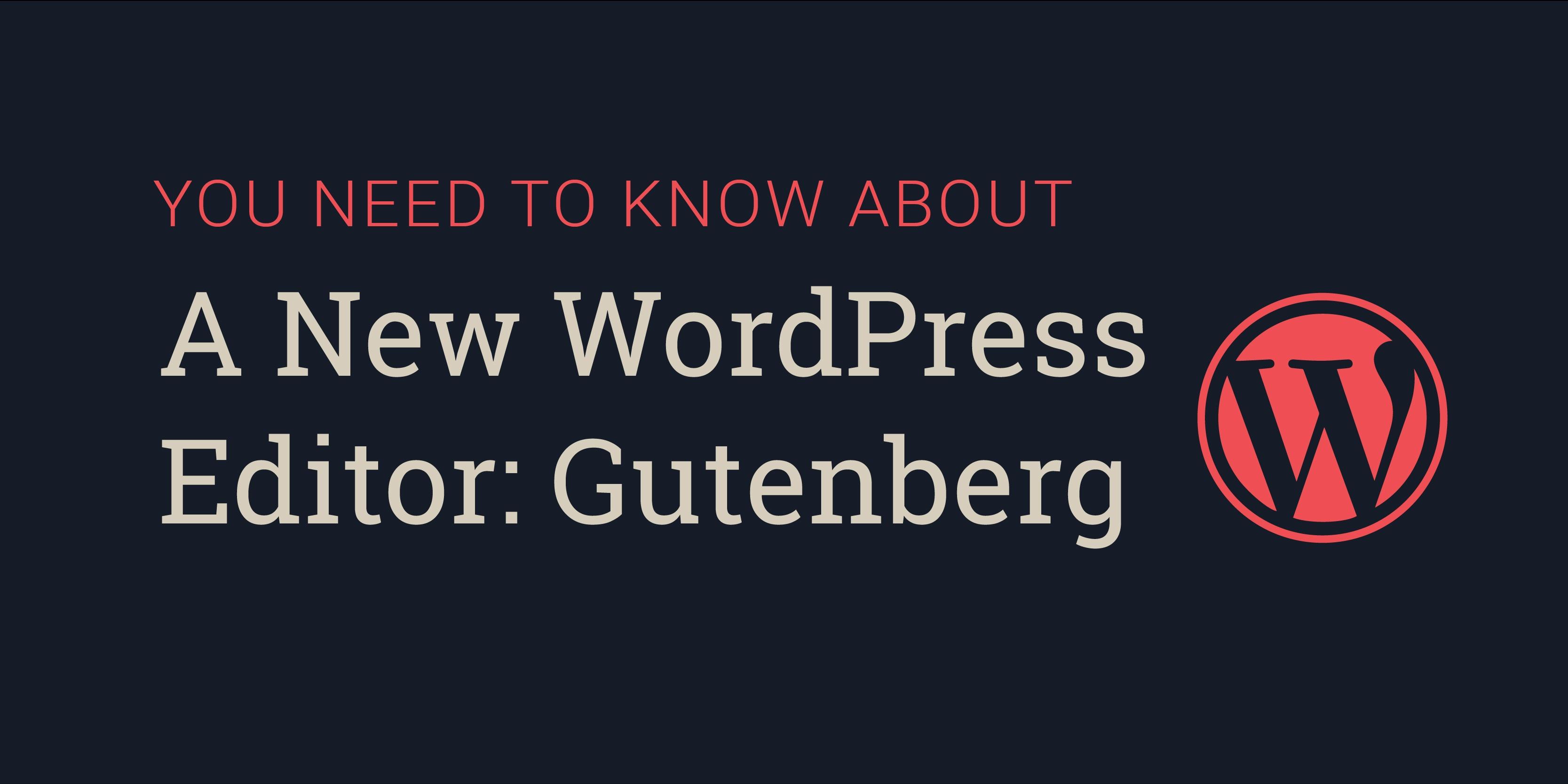new-editor-gutenberg