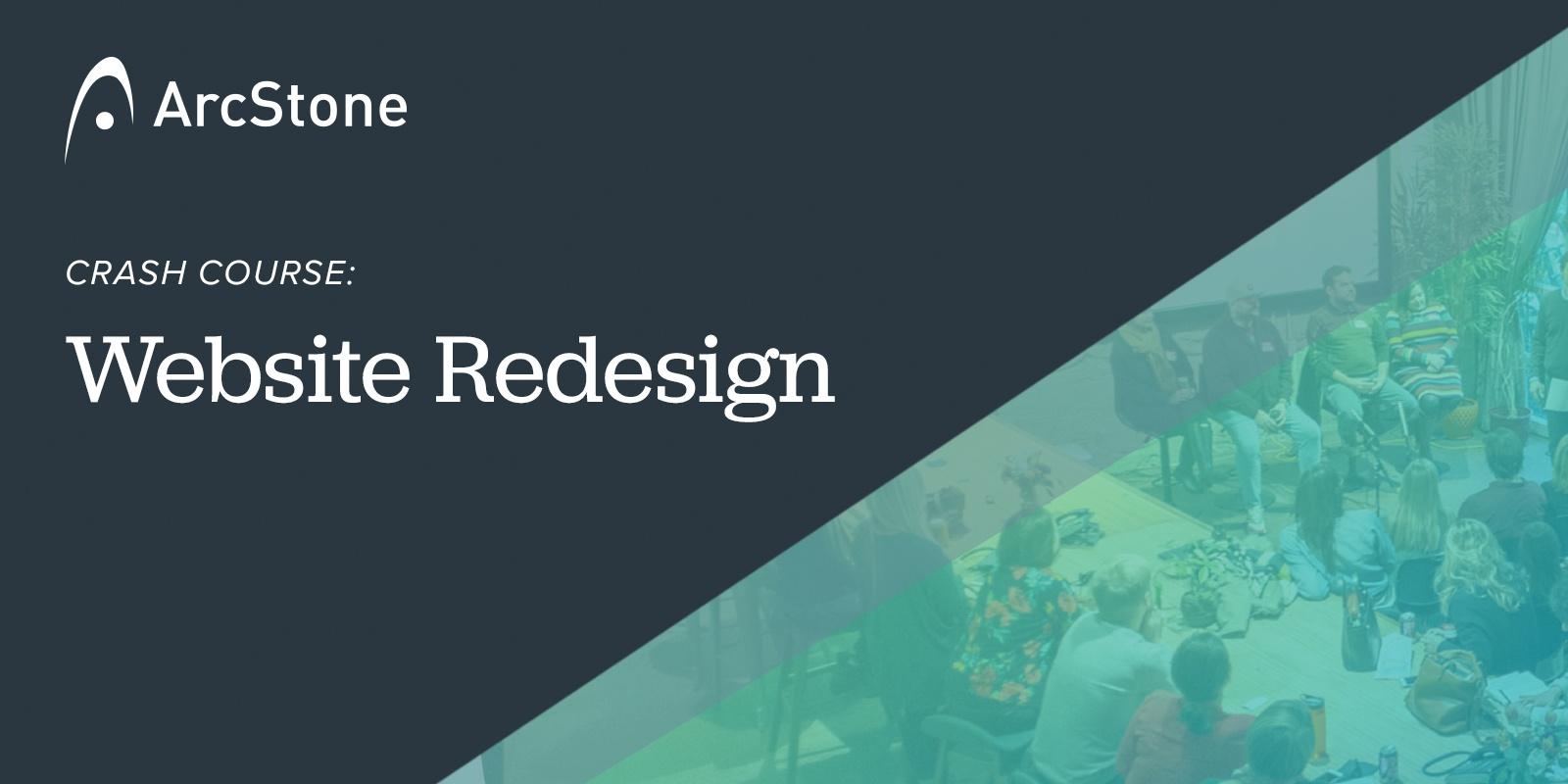 Crash Course: Website Redesign