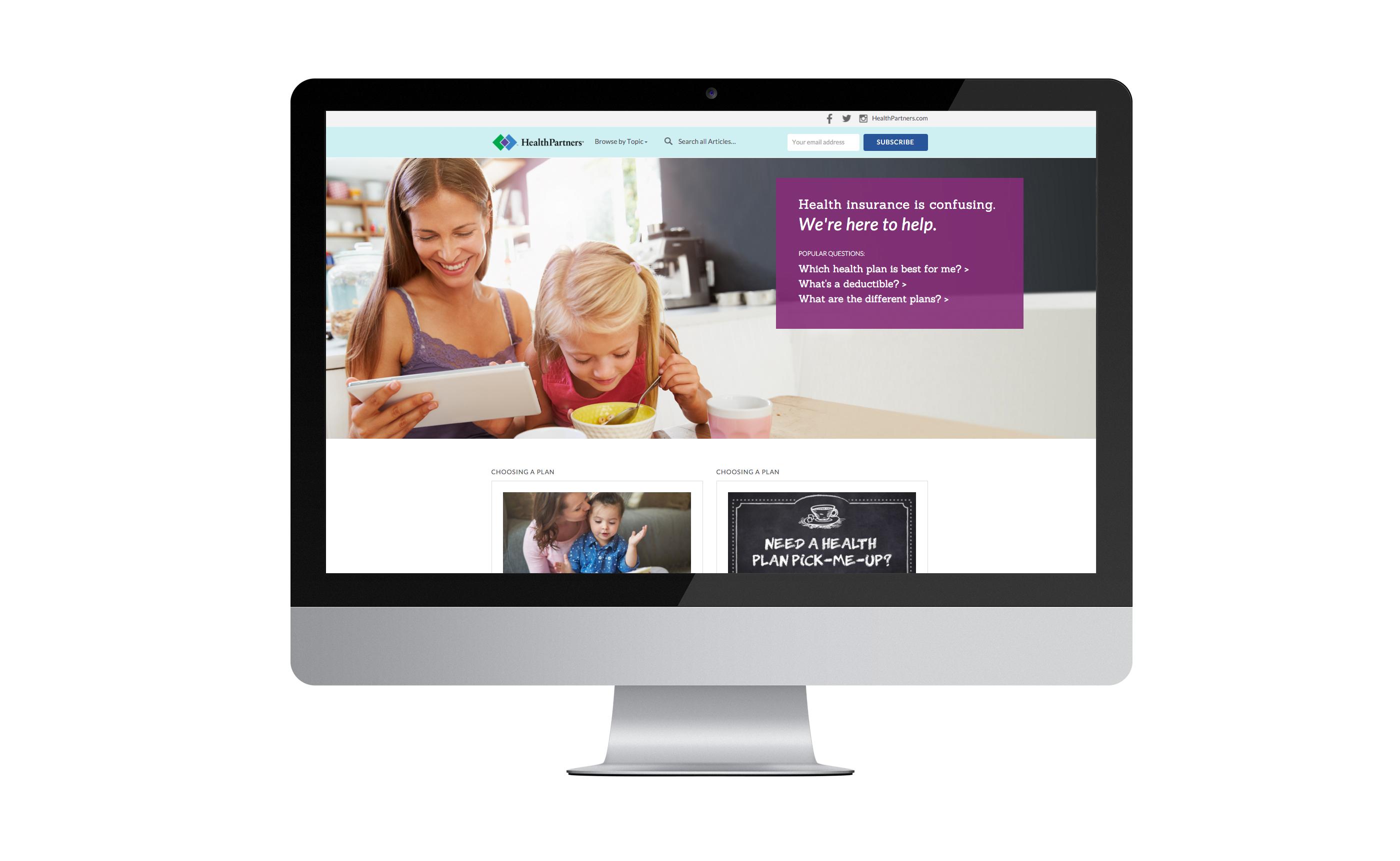 HealthPartners Insurance Help
