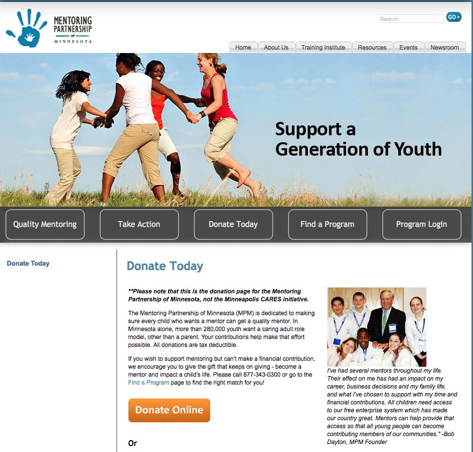 mentormn-old-website