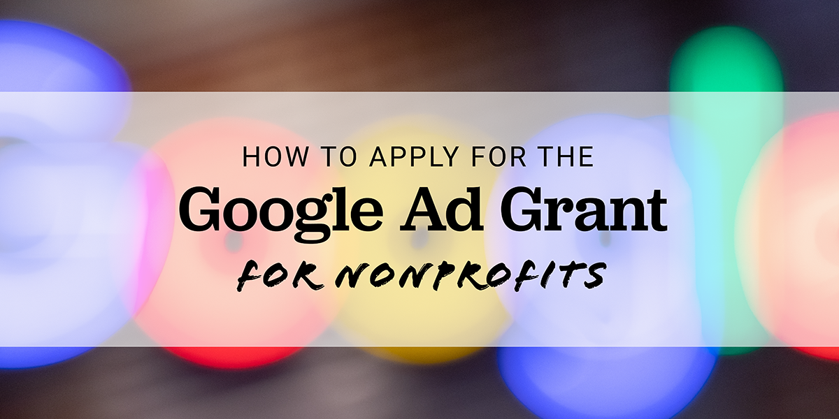 google-ad-grant-for-nonprofits