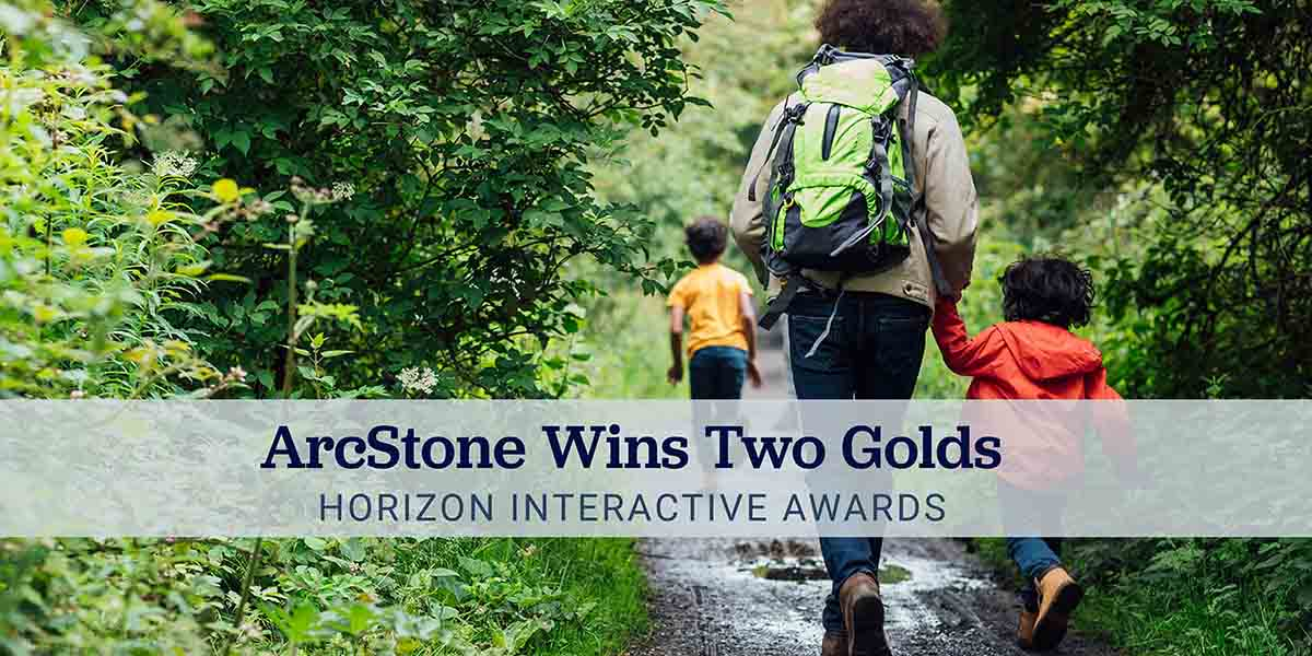 ArcStone Technologies wins two gold Horizon Interactive Awards